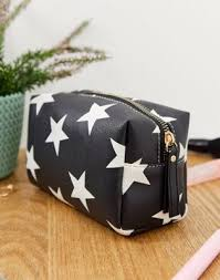 Yoki <b>Fashion</b> star <b>print makeup bag</b> | ASOS