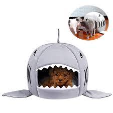 <b>Shark Cat Pet</b> House Cute Warm Soft <b>Dog</b> Cats Sleeping House For ...