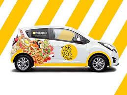 <b>Free Delivery</b> Car Mockup (<b>PSD</b>)