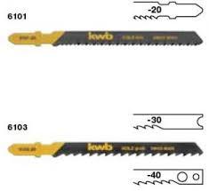 <b>Полотна</b> для электролобзика по дереву, мелкий зуб HCS 2шт. <b>KWB</b>