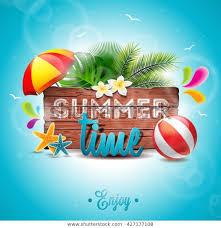 Типографическая иллюстрация Vector <b>Summer Time</b> Holiday