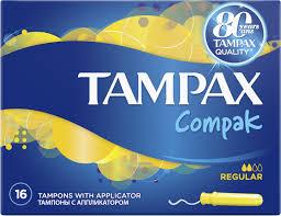 <b>Тампоны</b> гигиенические <b>Tampax Compak</b> Regular, с ...