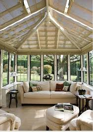 blinds splendid ideas sun room with shade blinds in case the sun is too strong great idea