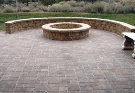 stone patio installation:  contemporary ideas stone paver patio tasty stunning stone paver patio residence design pictures