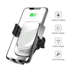 88AMZ <b>QI 10W</b> Wireless <b>Car Fast</b> Charger Holder For Samsung S10 ...