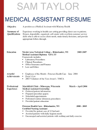 free medical assistant resume samples   singlepageresume com    medical assistant resume template summary of qualifications