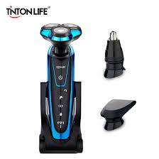 Shop TINTON LIFE <b>Men Washable Rechargeable Electric</b> Shaver ...