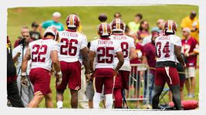 2019 Redskins in Richmond: Running Backs