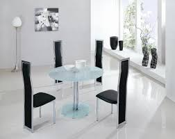round white marble dining table:  glass dining tables  mini round table gdt  gch xx xxglass black frosted clear  zoom