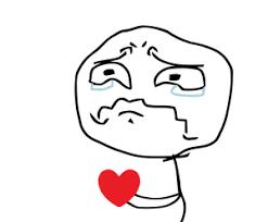 Broken heart meme face | Meme generator | Troll Face | Free meme ... via Relatably.com