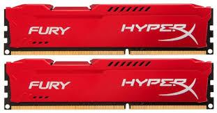 Оперативная <b>память</b> 8 ГБ 2 шт. <b>HyperX</b> Fury HX318C10FRK2/16 ...