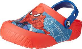 <b>Сабо для мальчика</b> Crocs FL Spiderman Lights Clog K, цвет ...