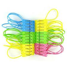 HONBAY 24 Pcs Clothes Peg Clip Pins Hanging Clips ... - Amazon.com