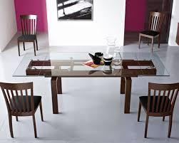 extendable dining table cs  cado modern furniture hyper modern extendable dining table