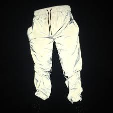 Dropshipper <b>hip hop</b> reflective pants men joggers sweatpants mens ...
