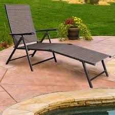 lounge patio chairs folding download: living outsunny folding pe rattan wicker patio chaise lounge chair