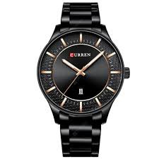 <b>CURREN</b> 8347 Men's Watch <b>Round</b> Waterproof Business Sale ...