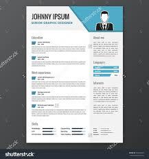 fancy resume template  tomorrowworld costock vector cv resume template vector graphic layout    fancy resume template