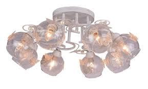 <b>Потолочный</b> светильник <b>Arte Lamp</b> A5004PL-8WG, золотой ...