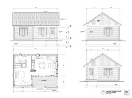 One Room House Layout       the maison scoudouc house plan c is    One Room House Layout       the maison scoudouc house plan c is designed as a small sq ft one   Tiny Houses   Pinterest   One Room Houses  House Layouts