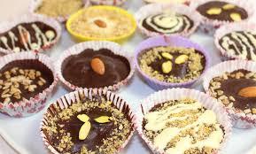 <b>Шоколадные конфеты с начинкой</b>. Как сделать в домашних ...