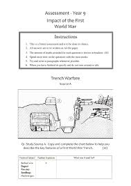 Year   History Worksheets   KS  Lesson Plans  amp  Powerpoint Resources WWI Source Assessment Worksheet