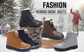 Women's Snow Boots Winter Suede Cotton Warm Fur ... - Amazon.com