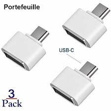 <b>3PCS USB 3.1 Type</b> C OTG Adapter for Xiaomi mi9 mi a3 9 9T A2 ...