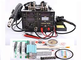 <b>YIHUA 853D</b> 110V SMD DC Power Supply Hot Air Gun <b>Soldering</b> ...