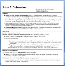 manufacturing engineer resume samples entry level resume example entry level