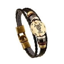 Gnzoe Jewelry Men Bracelet Leather Men Bangle Elegant Doubles ...
