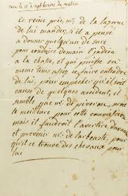 top 25 ideas about the third person creative marie antoinette queen of unsigned autograph letter to the comte de la luzerne