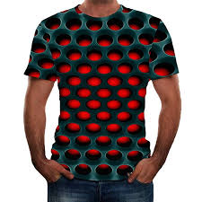 <b>Summer Men's</b> Short Sleeve <b>T</b>-<b>Shirt</b> Round Neck 3D Graphic Printed ...
