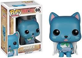 Funko POP Anime: Fairy Tail Happy Action Figure ... - Amazon.com
