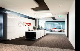 toyota auckland offices buildinglink offices design republic
