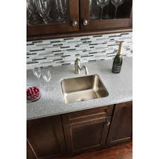 hammered copper kitchen sink: sinkology rembrant handcrafted  inch bar prep sink in hammered nickel