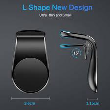L-образный <b>магнитный держатель</b> для телефона Abs + ...