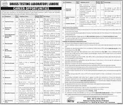 testing laboratory lahore jobs 2016 nts application form drugs testing laboratory lahore jobs 2016 nts application form advertisement