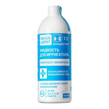 <b>Жидкость для ирригатора</b> Комплекс минералов <b>Waterdent</b>, 500 мл