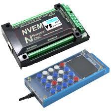 <b>NVEM</b> V2 6 axis <b>CNC</b> Controller 200KHZ Ethernet <b>MACH3</b> Motion ...