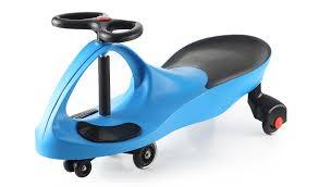 <b>Машинка детская с полиуретановыми</b> колесами синяя «БИБИКАР
