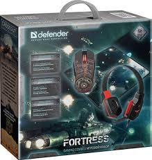 <b>Игровой набор Defender Fortress</b> MHP-012 мышь гарнитура ...