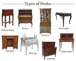 a guide to types of desks amazing vintage desks