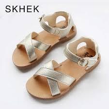 <b>SKHEK PU</b> Leather Girls <b>Shoes kids</b> Summer Baby Girls Sandals ...