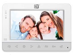 <b>Видеодомофон Space Technology ST M100 4</b> (S) White - ElfaBrest