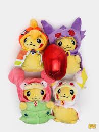 Мягкая игрушка <b>Pikachu cosplay</b> (Пикачу косплей) / 5 видов / 18см ...