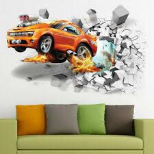 Cars <b>Removable</b> Décor Decals, Stickers & <b>Vinyl Art</b> for sale | eBay