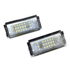 Автомобильные мигающие 2 шт. белые <b>светодиодные лампы</b> ...