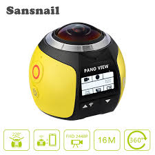 <b>Sansnail 360 Camera HD</b> Ultra Mini Panoramic Camera WIFI 3D ...