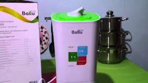 Видеообзор <b>ультразвуковой увлажнитель воздуха Ballu</b> UHB 205 ...